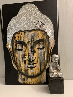 LUXURY MOVING YARD SALE Budah Canvas Art for Sale in Alexandria, VA
