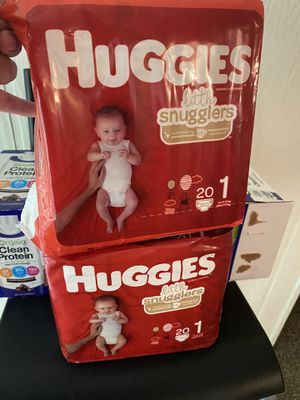 Diaper size 1 for Sale in Aspen Hill, MD