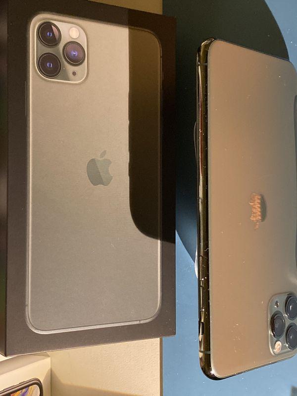 Apple iPhone 11 Pro Max 512gb Unlocked Midnight Green