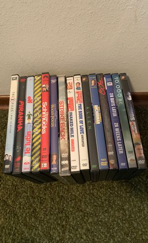 15 dvds for Sale in Lynnwood, WA