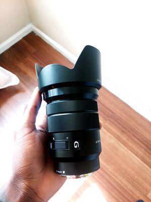18 - 105mm G Master Lens Sony e mount for Sale in Hartford, CT