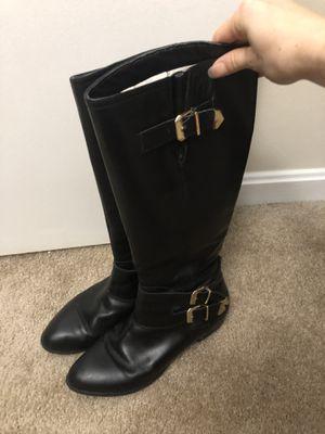 Black Leather Aldo Boots -Size 8 women's for Sale in Alexandria, VA