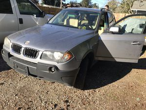 2005 X3 bmw excellent condition, runs/drives, for parts for Sale in Portland, OR