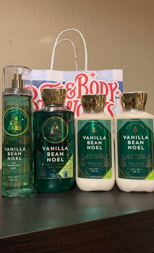 Bath & Body Works Vanilla Bean Noel for Sale in Stockton, CA