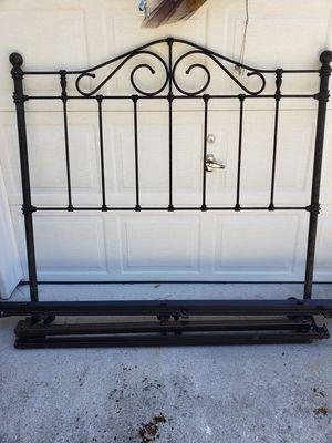 Iron bed frame for Sale in Virginia Beach, VA