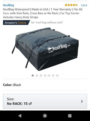 Roof cargo bag for Sale in Des Moines, IA