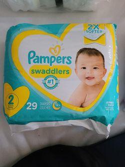 Size 2 Diaper for Sale in Hayward,  CA