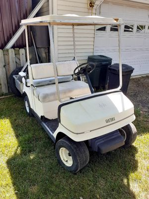 Golf cart needs motor lost key for Sale in Otter Lake, MI