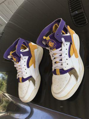 Nike Air Flight Huarache LA Los Angeles Lakers Kobe Bryant Basketball Sneaker Shoes 6 Zapatos for Sale in Santa Ana, CA