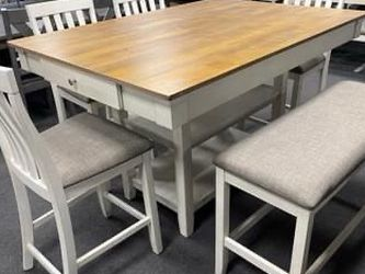 7PC Dining Table Set for Sale in Fresno,  CA