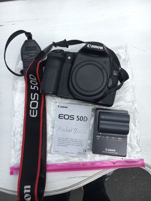 Canon EOS 50D camera with Battery Charger and Extra Battery for Sale in Bend, OR