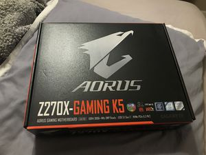 AORUS Z270X-Gaming K5 for Sale in Miami, FL