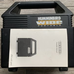 Hummingbird Wide Portable Boat Depth Finder New In Case 400.00 Obo for Sale in Shady Side, MD