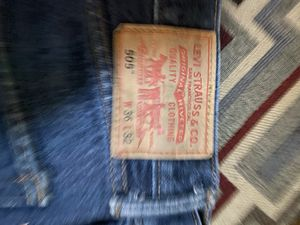Levi's 505 36x32 for Sale in Lancaster, MA