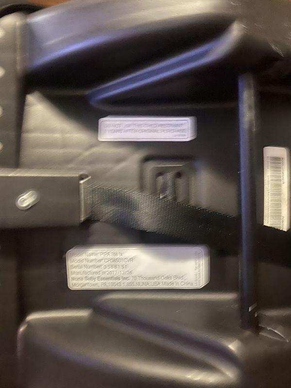 Nuna car seat between 4 and 32 pounds