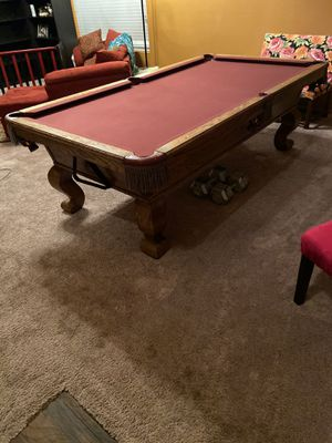 Full size pool table great condition for Sale in Goodyear, AZ