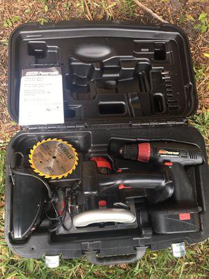 Circular saw and drill coleman powermate for Sale in Tampa, FL