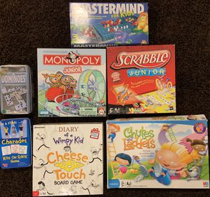 Board games for kids for Sale in Kirkwood, MO