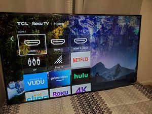 "TV 65"" TCL-ROKU 4K and Audio sistema VIZIO for Sale in Kent, WA"