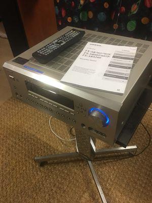 Onkyo Tx-sr 702 Av receiver nice! Manual remote new battery for Sale in Grand Prairie, TX