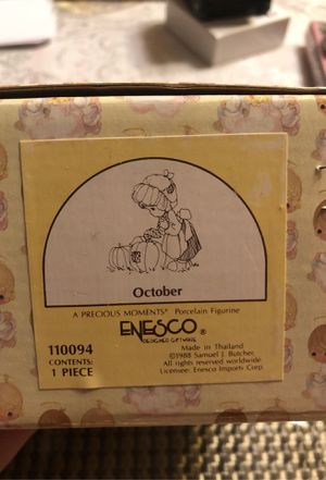 Precious Moments 1988 (October ) Vintage for Sale in Chicago, IL