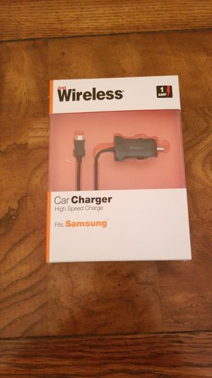 NEW high speed car charger micro USB for Sale in Lake in the Hills, IL