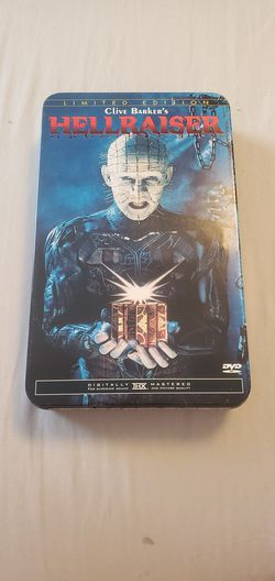 Limited Edition Hellraiser DVD Tin for Sale in White Hall,  WV