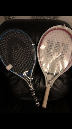 Two Tennis Rackets for Sale in Vernon, CT