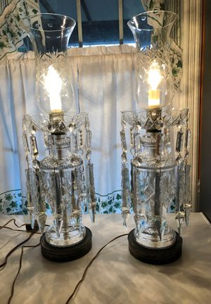 Two vintage woman's i lamps from1920s rare for Sale in Pittsburgh, PA