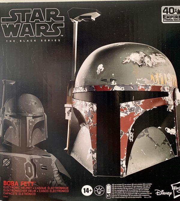 Star Wars Black Series Boba Fett Electronic Helmet