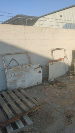 Old chevy door's don't know what there worth but not trying to get rich first person with a decent offer they're theirs for Sale in Fresno, CA