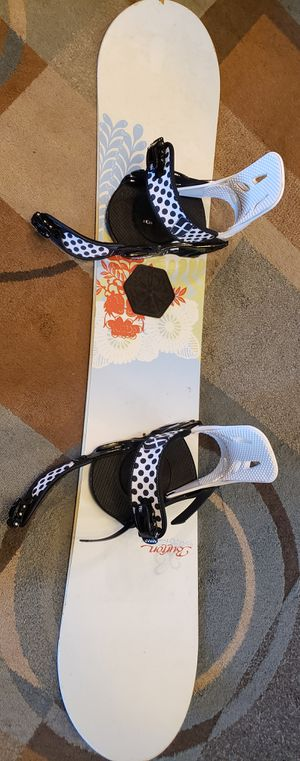 Burton 147 snowboard with Forum bindings for Sale in Cleveland, TN