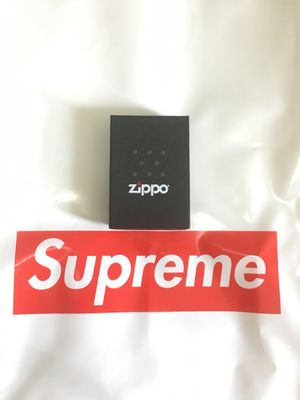 Supreme Diamond Plate Zippo Metal for Sale in Brooklyn, NY