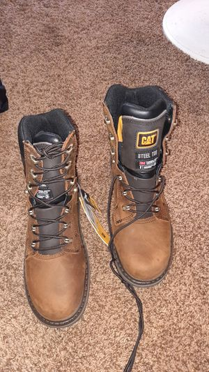 Caterpillar work boots for Sale in Puyallup, WA