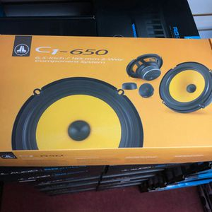 Jl audio c1 -650 on sale today message us for the best deals in la for Sale in Los Angeles, CA