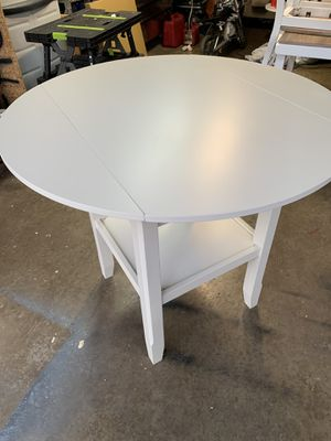 Wine and dine table with glass holder for Sale in Columbus, OH