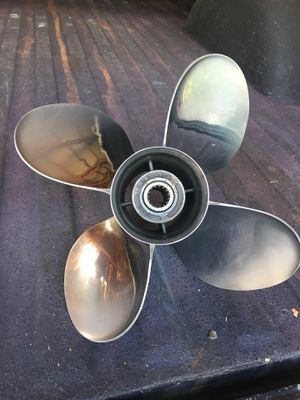 Stainless propeller for 150hp Johnson/Evenrude for Sale in Lake Charles, LA
