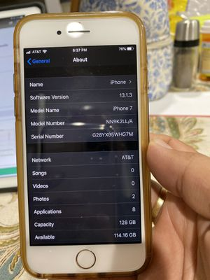 iPhone 7 att 128gb gold for Sale in Paramount, CA