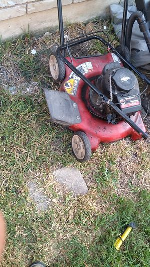 Lawn mower parts weed eater parts wheels for Sale in San Antonio, TX