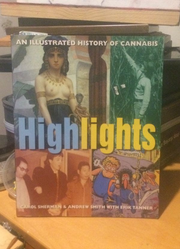 Highlights - an illustrated history on cannabis