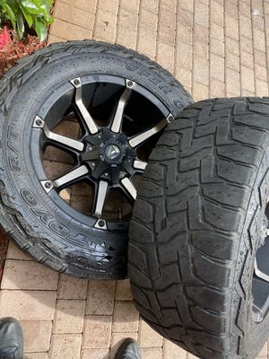 RIMS ( Fuel ) with toyo open country {link removed} for Sale in Fort Lauderdale, FL