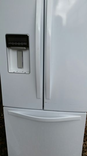 French door refrigerator bottom freezer for Sale in Alexandria, VA