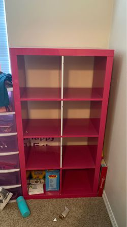 IKEA Kallax 8 cube organizer/book shelf for Sale in Kent,  WA