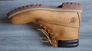 Timberland Mens 6 Inch Premium Waterproof Work Boots Wheat Nubuck 73540 Sz 11.5 for Sale in Lutz, FL