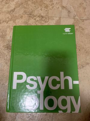 Openstax Psychology Textbook for Sale in Shaker Heights, OH