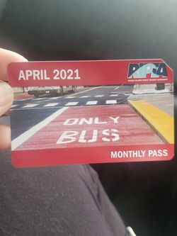 April RIPTA  month pass  for Sale in Pawtucket, RI