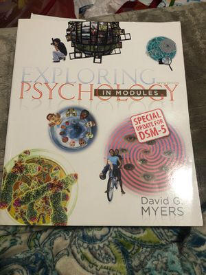 Phychlogy ninth edition for Sale in Modesto, CA