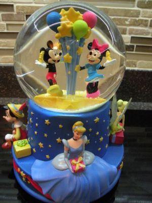 Hallmark Disney limited edition snow globe musical 100 anniversary for Sale in Hillsboro, OR