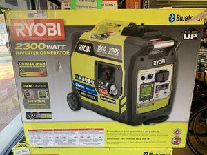 Roybi Bluetooth 2,300 Starting Watt Super Quiet Gasoline Powered Digital Inverter Generator for Sale in Silver Spring, MD