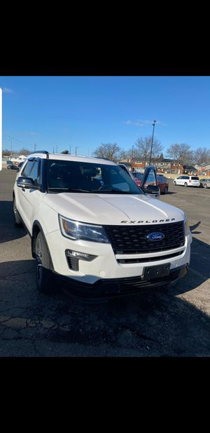 2018 ford explorer sport 4x4 EcoBoost for Sale in Dearborn, MI